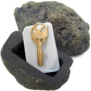 Hide-a-Spare-Key Fake Rock