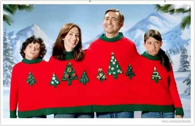 Funny family christmas sweaters