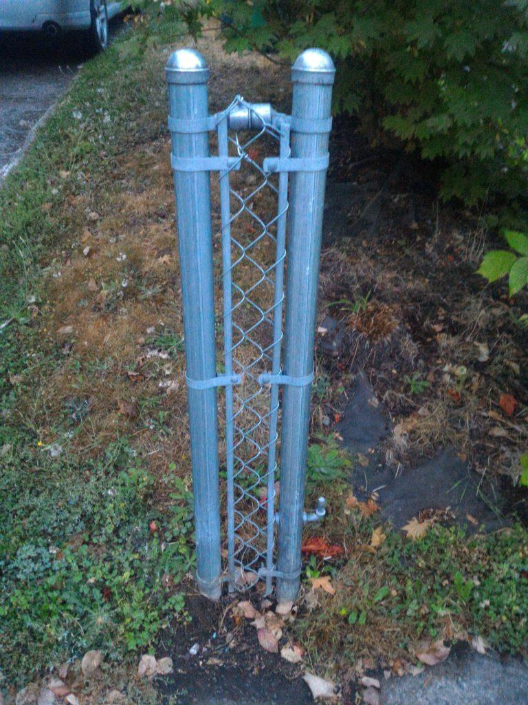 a very very narrow fence