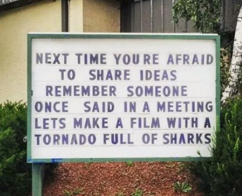 Great Advice when Afriad to Share Your Ideas