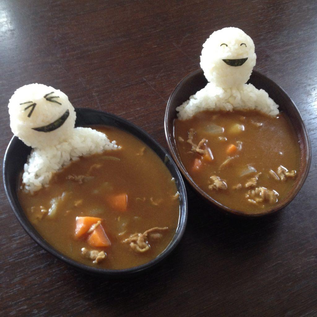 Very tasty hot bath